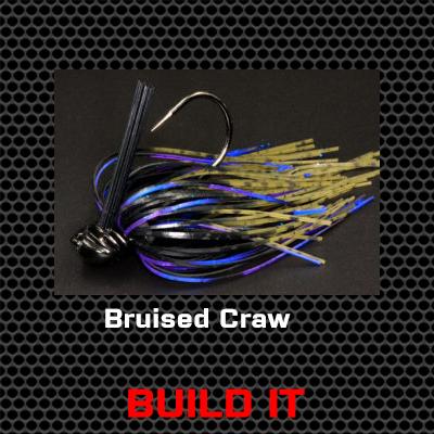Bruised Craw Bass Jig Custom Build