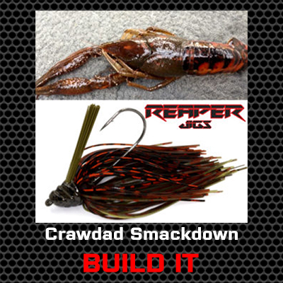 Crawdad Smackdown Bass Jig Custom Build